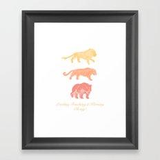 Leading, Tracking, & Kerning - Oh my! Framed Art Print