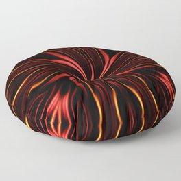 Blazed  Floor Pillow