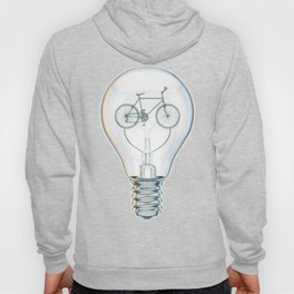 Light Bicycle Bulb Hoody