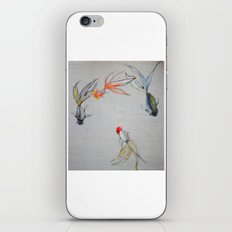 Goldfish Pond (close up #8) iPhone & iPod Skin