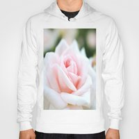 rose Hoodies featuring Rose by Whimsy Romance & Fun
