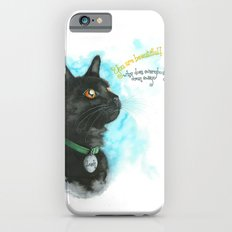 Black Cat-2 Slim Case iPhone 6s