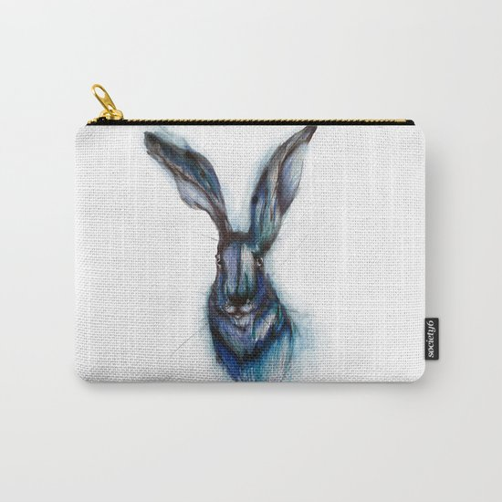 Blue Hare Carry-All Pouch