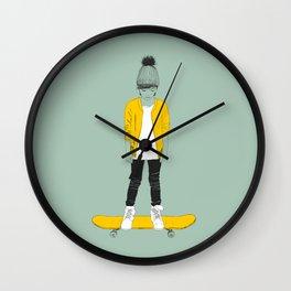 Skater Kid Wall Clock
