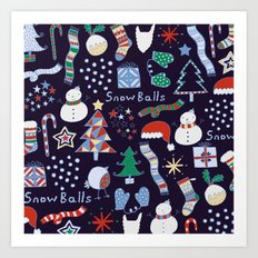 Christmas Fun Art Print