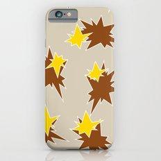 Stars (Brown & Gold on Sand) iPhone 6 Slim Case