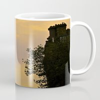 college Mugs featuring Trinity College Sunset by Biff Rendar
