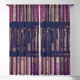 pink tapes Blackout Curtain