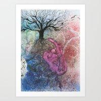 ARTERIES Art Print