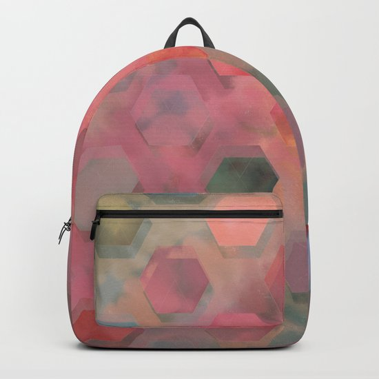 Autumn Bee Square Backpack