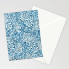 Vintage fine American fine art,  Marigold pattern by William Morris. Stationery Cards