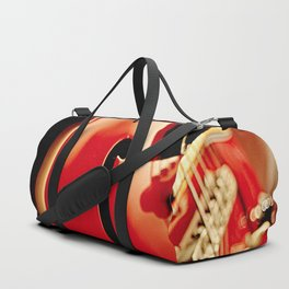 Jazz Guitar Closeup Duffle Bag
