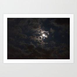 Moonlit Moment Art Print