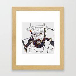 Do you see me? Framed Art Print
