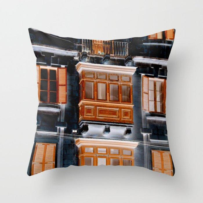 balcon Throw Pillow