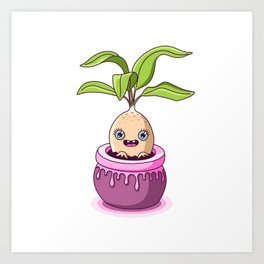 Mandrake Art Print