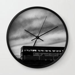 Man & London Bus Wall Clock