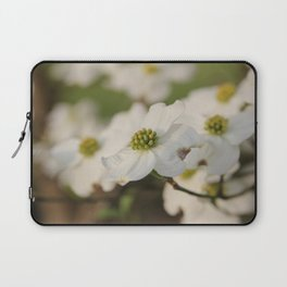 Dogwood Blossoms Laptop Sleeve