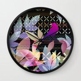 Garden Music Wall Clock