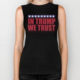In Trump We Trust Biker Tank