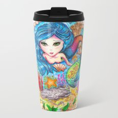 The Mermaid Metal Travel Mug