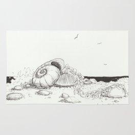 Sally Sells Sea Shells. . . Rug