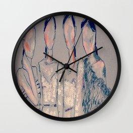 Ladys in grey Wall Clock