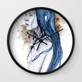 One For Sorrow Wall Clock