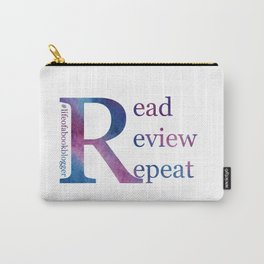 Read, Review, Repeat Carry-All Pouch