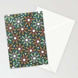 Floral wreath Stationery Cards