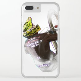 Luca Shaw Clear iPhone Case