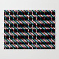 Diagonal Grid Canvas Print