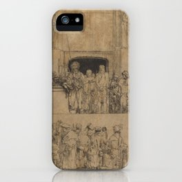 Christ Presented to the People iPhone Case