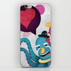 Pushing Love Like Pimps iPhone & iPod Skin