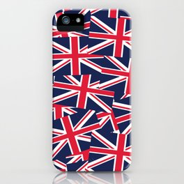 Union Jack Flags iPhone Case