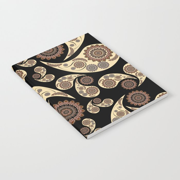 Paisley Pattern Notebook