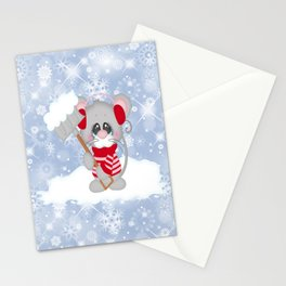 Time To Shovel Stationery Cards