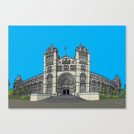 The Natural History Museum, London Canvas Print