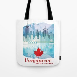 Vancouver, Canada Tote Bag
