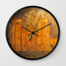 Wells Cathedral Wall Clock