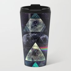 LYYT SYYD ºF TH' MYYN Metal Travel Mug
