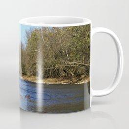 River flows Coffee Mug