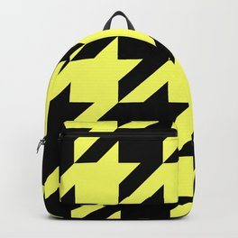 Baby Yellow Houndstooth Backpack