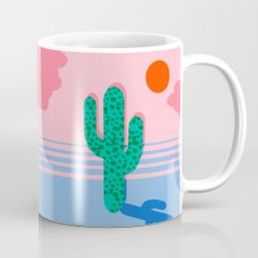 No Foolin - retro throwback neon art design minimal abstract cactus desert palm springs southwest  Mug
