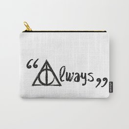 Always Deathly Hallows Carry-All Pouch