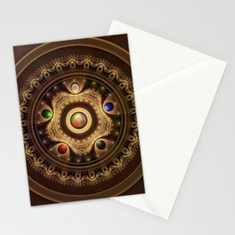 Gathering the Five Fractal Colors of Magic Stationery Cards