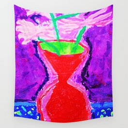 Elementary Vases Wall Tapestry