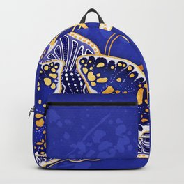 Egyptian Blue :: Orchid Backpack