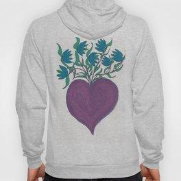 Magic Purple Heart Hoody