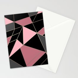 Abstraction . Geometric pattern 3 Stationery Cards